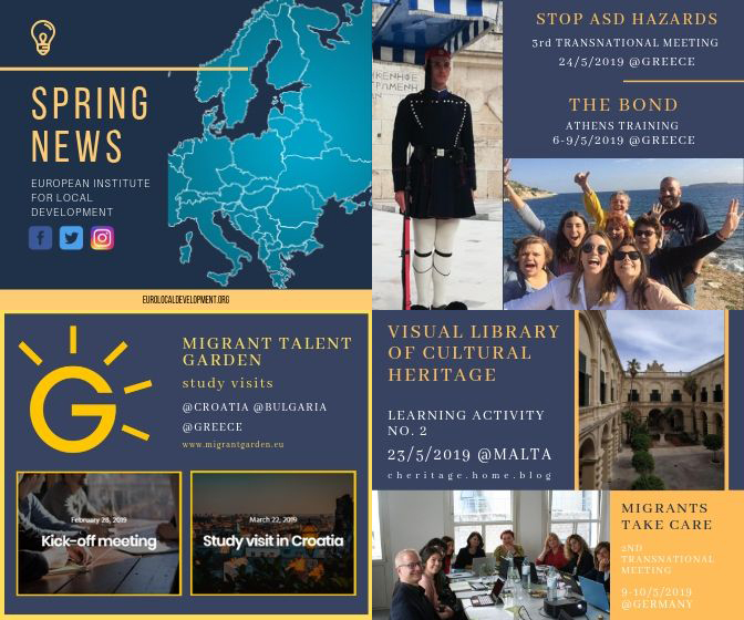 Spring Newsletter EILD 2019