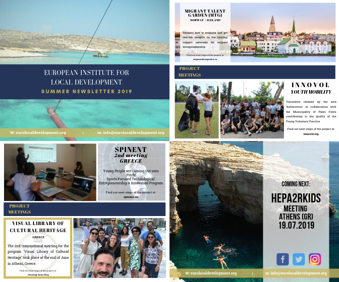 Summer Newsletter EILD 2019
