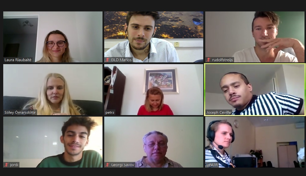 The Migrant Talent Garden Virtual Meeting
