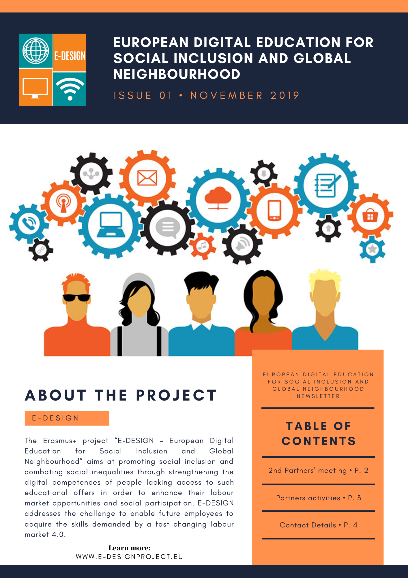 E-Design project Newsletter Vol.1