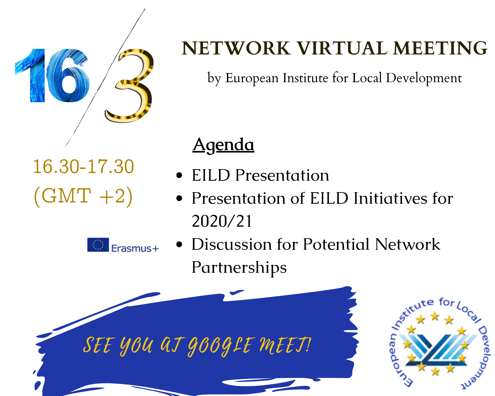 EILD'S NETWORK VIRTUAL MEETING ON March 16