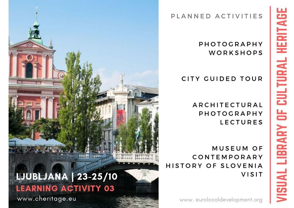 "Learning activity for ""Visual Library of Cultural Heritage"" project"