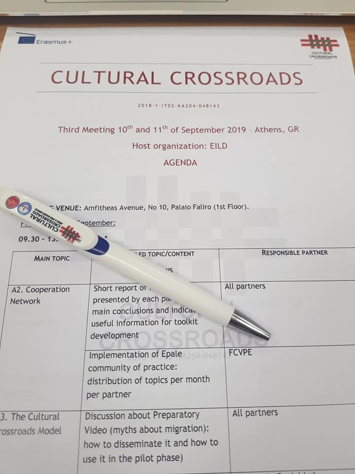 Cultural Crossroads Press Release