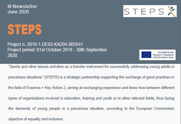 STEPS project 3rd Newsletter published